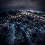 La notte di Firenze dal Piazzale