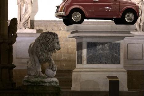 grafica-3d-rendering-firenze-statua-loggia-lanzi