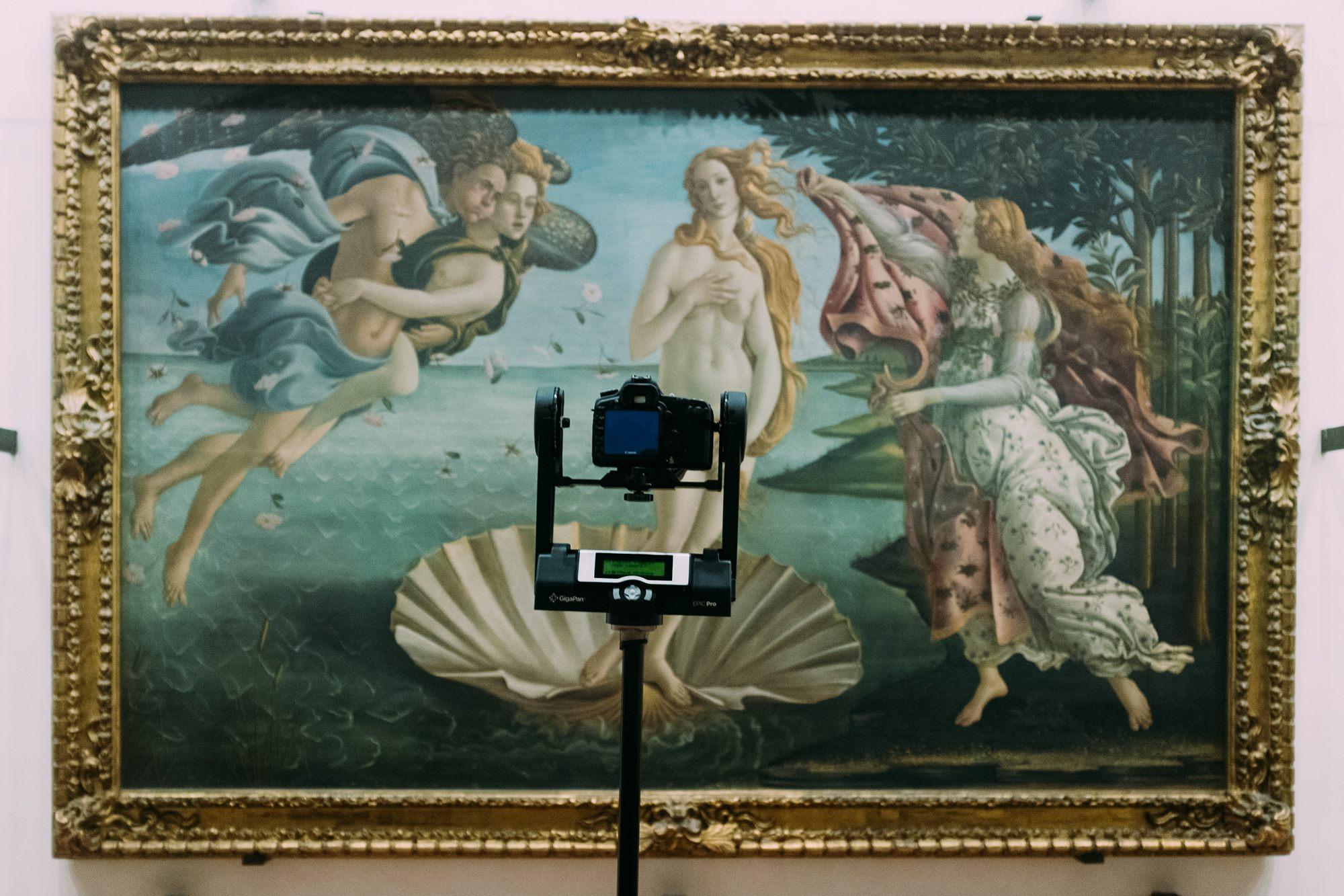 Uffizi Venere Reon Studio