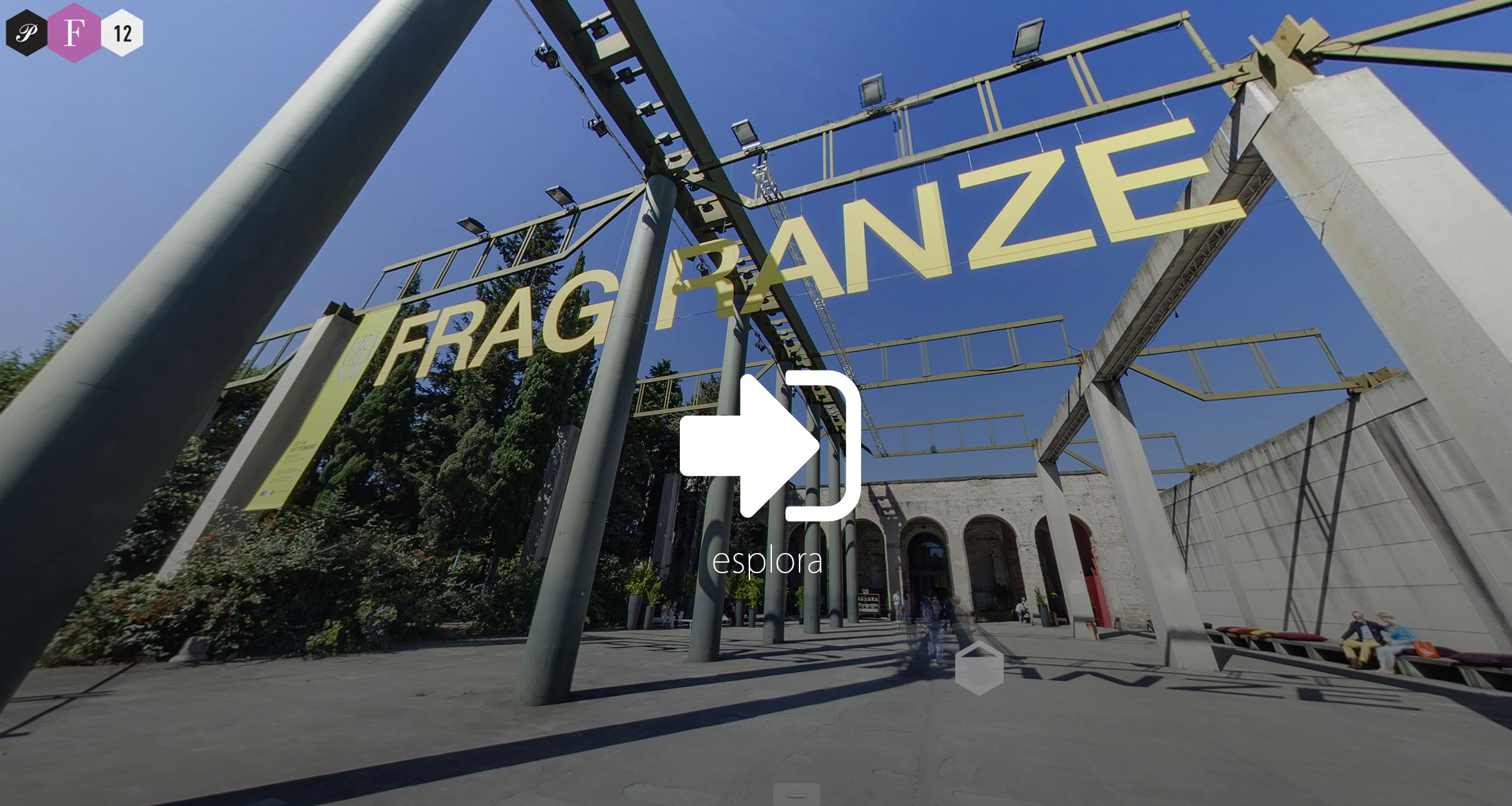 virtual tour pitti fragranze