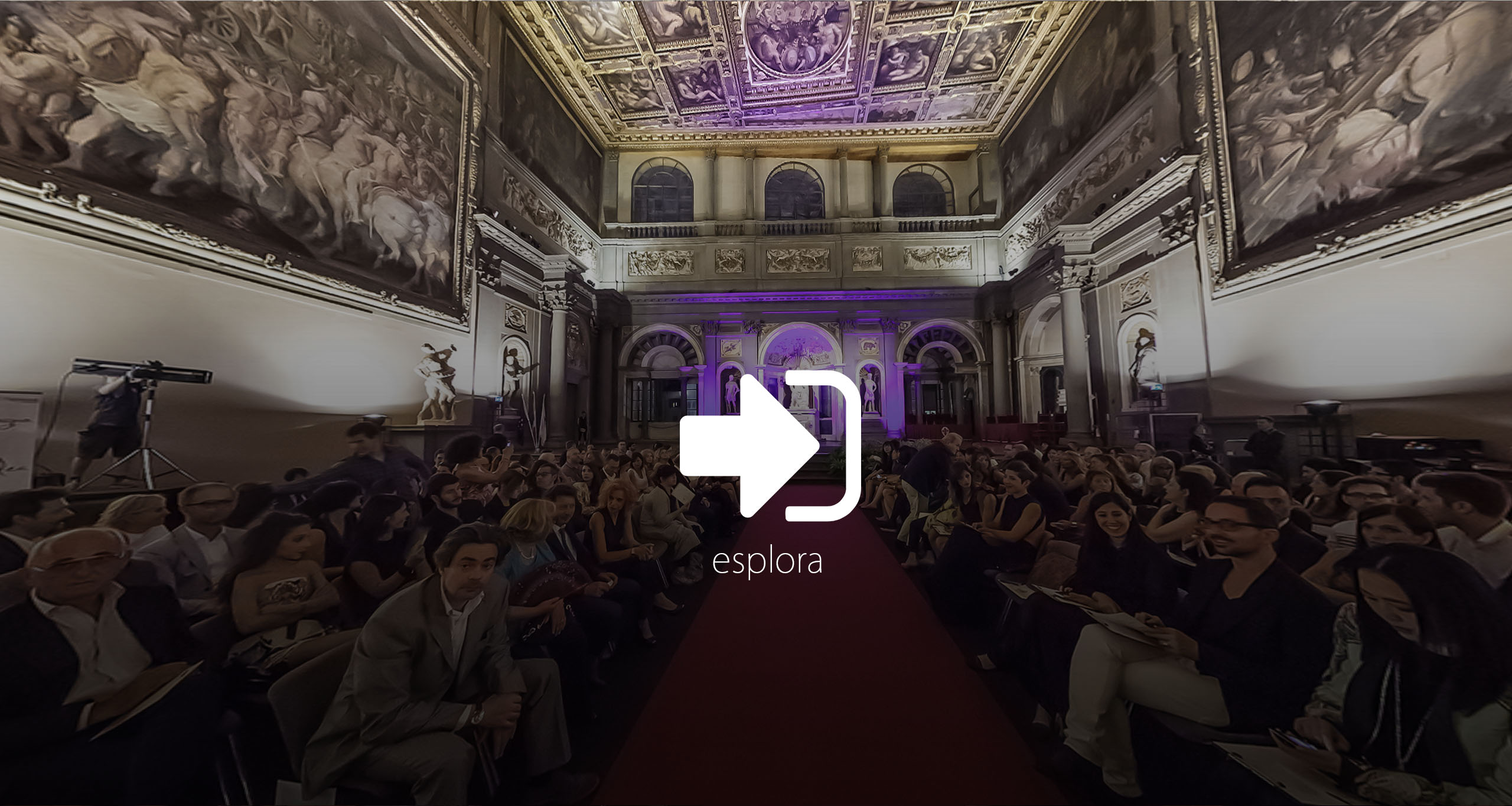 virtual tour salone 500 firenze